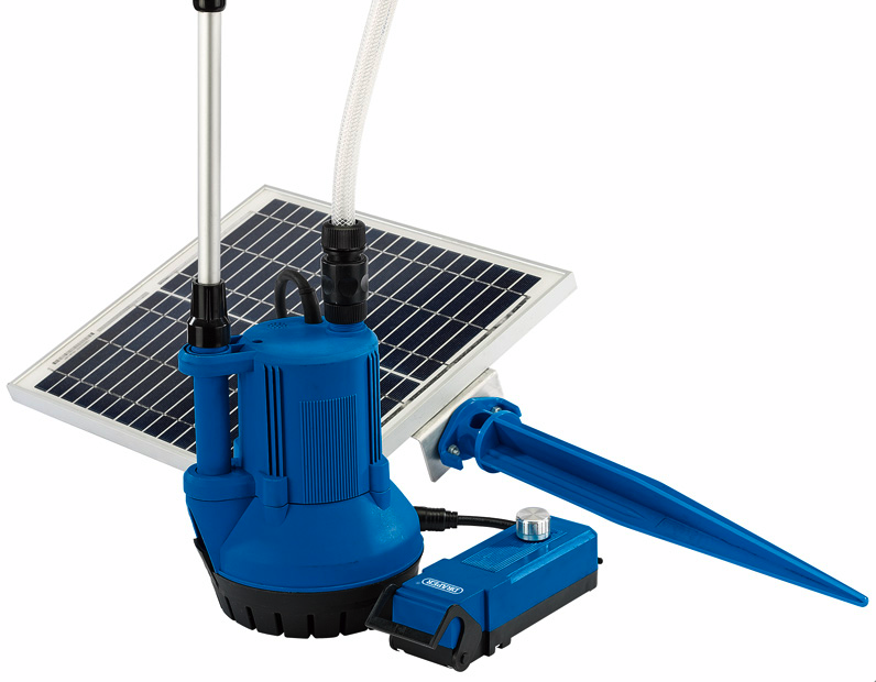 Draper Solar Powered Water Butt Pump
