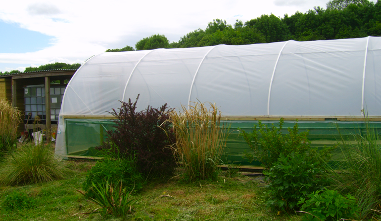 Tensioning and Fixing the CACG Polytunnel Cover